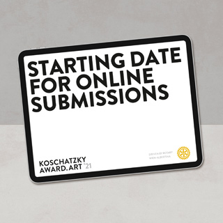 Starting date for online submissions